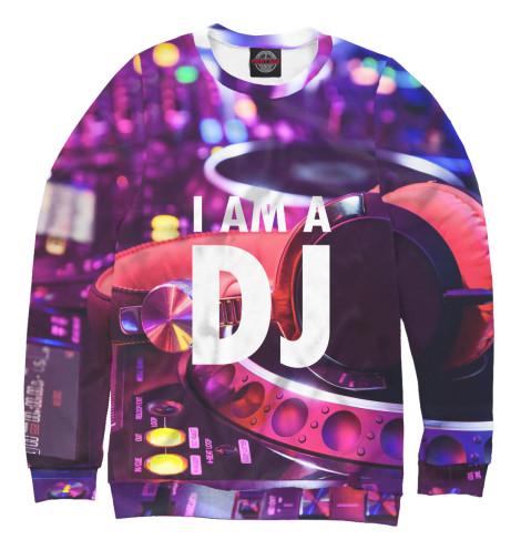 Свитшот Print Bar I am a DJ свитшот print bar i am sherlocked