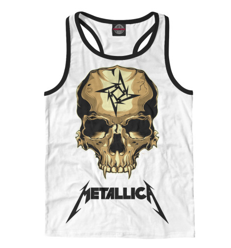 Майка борцовка Print Bar Metallica Skull майка борцовка print bar metallica