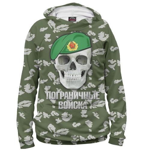 Худи Print Bar Пограничные войска флаг автомобильный ratel пограничные войска россии двухсторонний 30 х 40 см
