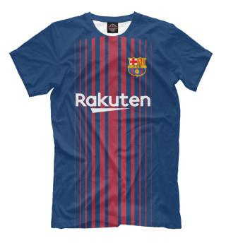 Футболки FC Barcelona - купить футболки с принтом, надписями и ... e6835952d12