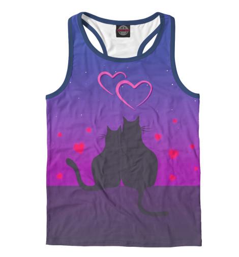 Майка борцовка Print Bar Cat's desire. Парные футболки. vtoroi tizer htc desire 10 lifestyle i desire 10 pro yje zdes