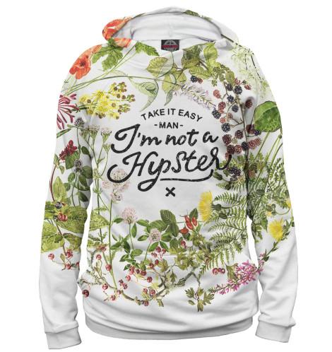 Женское худи I'm not a hipster