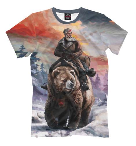 Футболка Print Bar На медведе