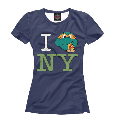 Футболка Print Bar Love New York dkny love from new york for women где