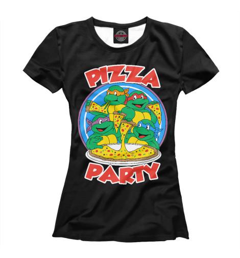 Футболка Print Bar Pizza Party свитшот print bar flash pizza