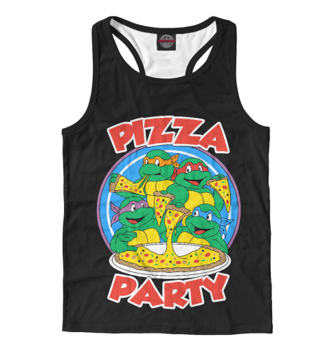 Майка борцовка Print Bar Pizza Party свитшот print bar flash pizza