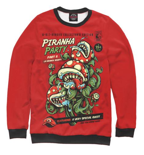 Свитшот Print Bar Piranha Party кеды piranha кеды