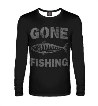 Мужской лонгслив Gone fishing