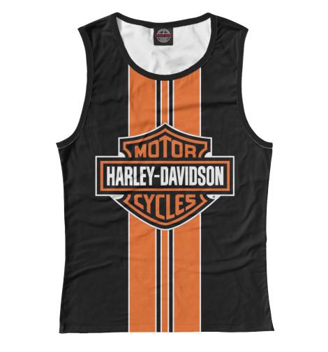Майка Print Bar Harley-Davidson chrome custom motorcycle skeleton mirrors for harley davidson softail heritage classic