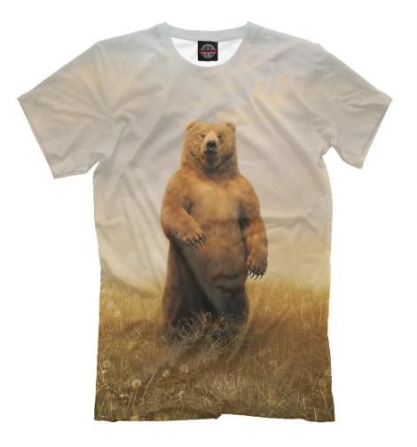 Футболка Print Bar Мишка футболка print bar россия медведь
