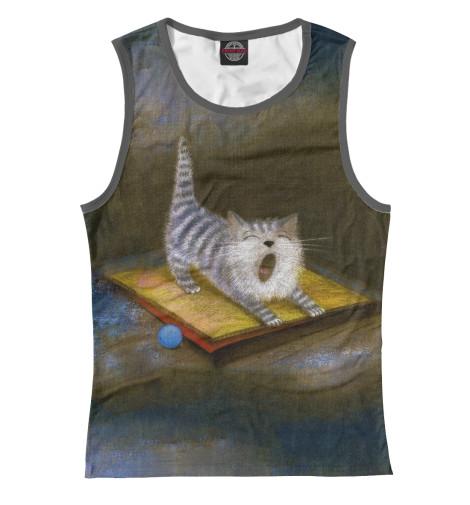 все цены на Майка Print Bar Sleepy Kitten онлайн
