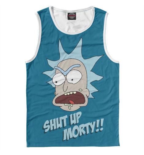 Майка Print Bar Рик и Морти футболка print bar рик и морти