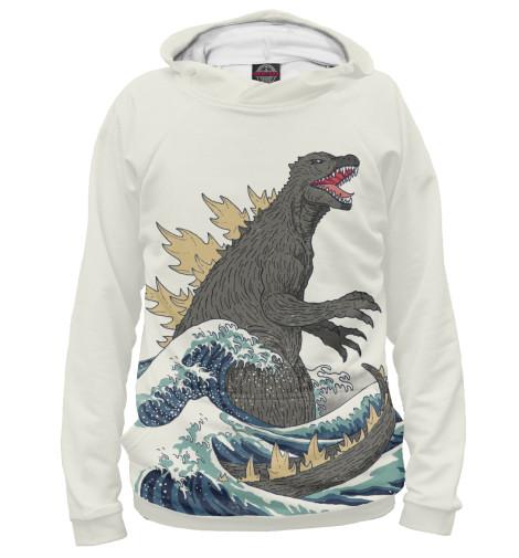 Худи Print Bar Godzilla футболка классическая printio godzilla white