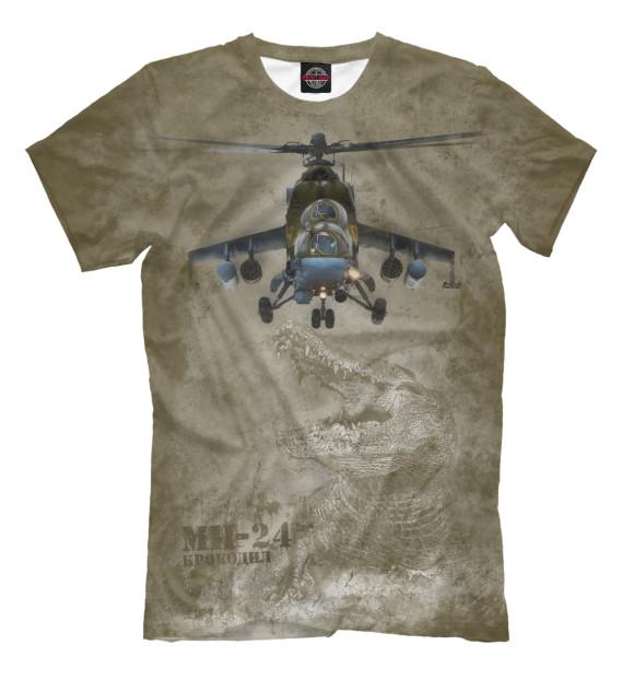 Купить Футболка для мальчиков Вертолет Ми-24 «Крокодил» VVS-867412-fut-2