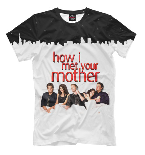 Футболка Print Bar How I Met your Mother use your illusion i cd