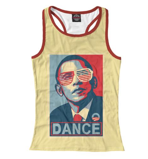 Майка борцовка Print Bar Обама dance видеоигра для ps4 just dance 2018