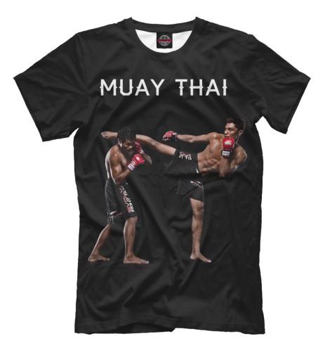 Футболка Print Bar Муай Тай китайская школа боевых искусств самозащита муай тай