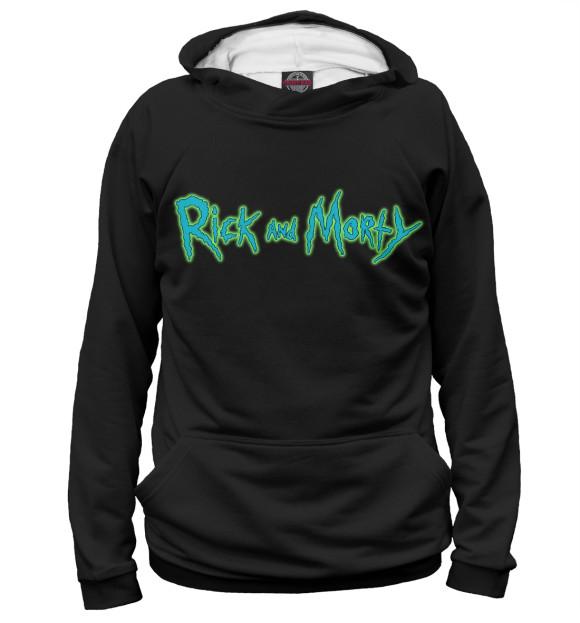 Женское худи Rick and Morty RNM-469821-hud-1  - купить со скидкой