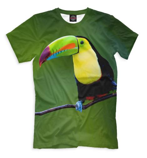 Мужская футболка Тукан
