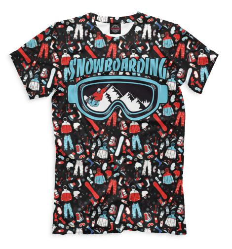 Футболка Print Bar Сноубординг футболка макс экстрим футболка сноубординг