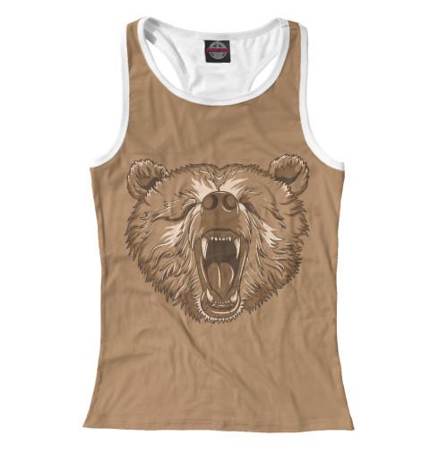 Майка борцовка Print Bar Медведь майка борцовка print bar медведи и балалайки