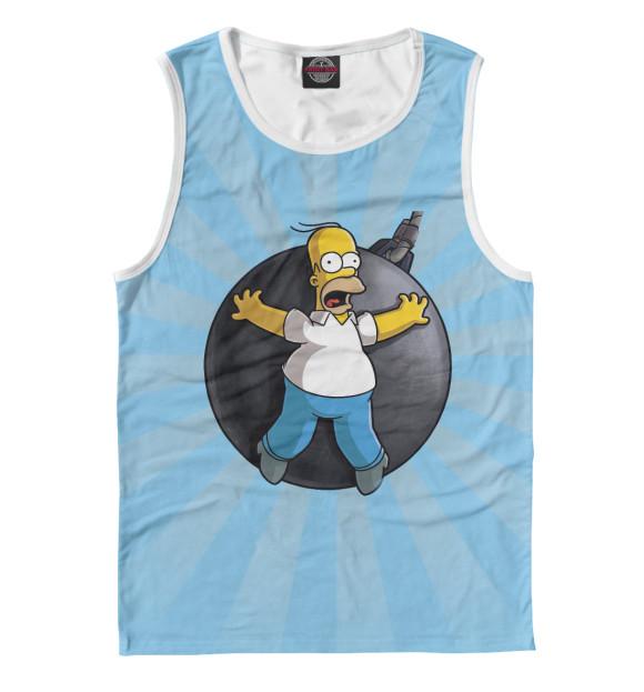Купить Мужская майка Homer Bombing SIM-576008-may-2