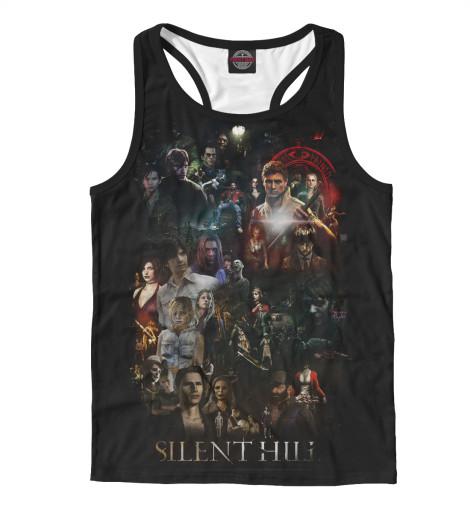 Майка борцовка Print Bar Silent Hill silent treatment