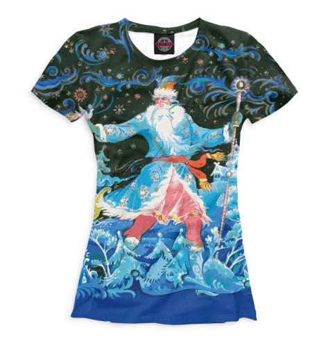 Женская футболка Новый Год