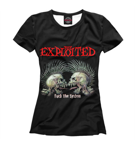 Футболка Print Bar The Exploited the exploited the exploited apocalypse tour 1981 limited edition lp
