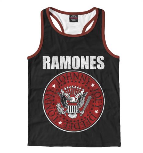 Майка борцовка Print Bar Ramones свитшот print bar ramones