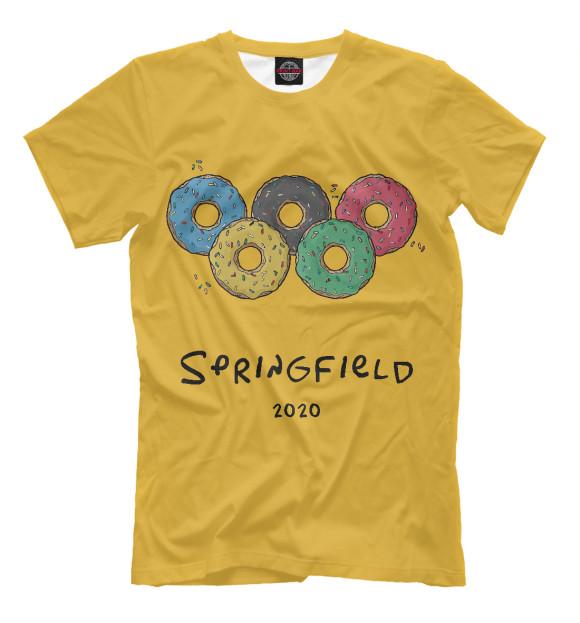 Купить Мужская футболка Springfield 2020 SIM-171760-fut-2