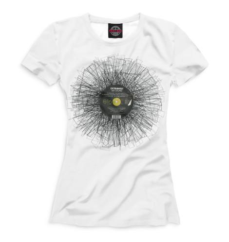 Женская футболка Экстравелт