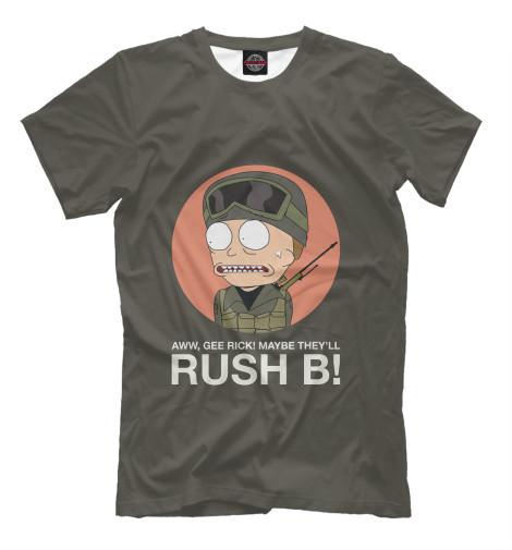 Футболка Print Bar Rush B! mike86] mix b 207 20 30 b 207