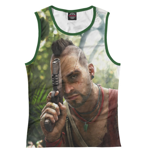 Майка Print Bar Far Cry 3 — Ваас a far and deadly cry