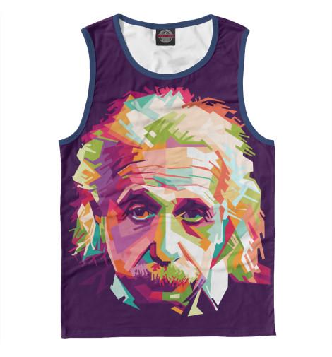 Майка Print Bar Альберт Энштейн альберт кузнецов элементарная электротехника