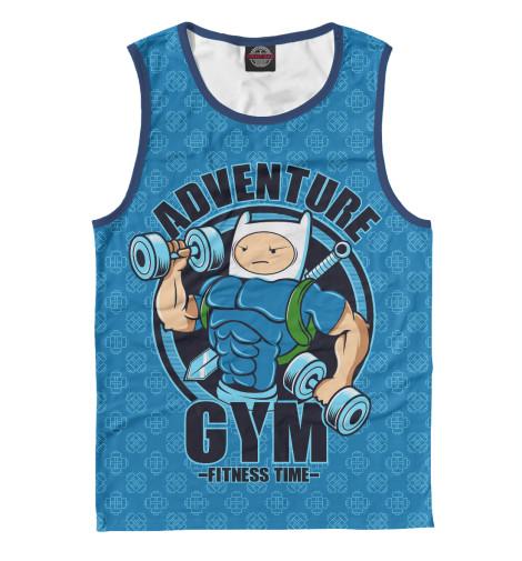 Майка Print Bar Adventure Gym худи print bar adventure gym
