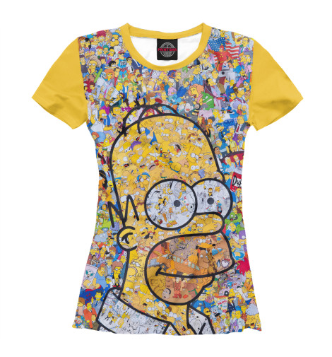 Женская футболка Simpsons