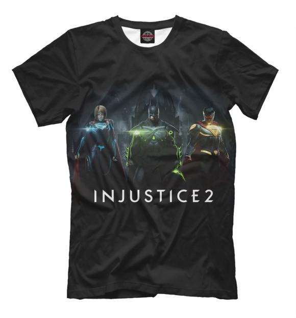 Купить Футболка для мальчиков Injustice 2 INJ-295174-fut-2