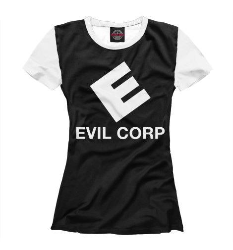 Футболка Print Bar Evil Corp designs corp