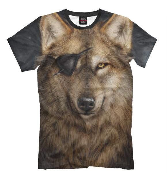 Купить Мужская футболка Волк VLF-102912-fut-2