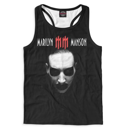 Мужская майка-борцовка Marilyn Manson