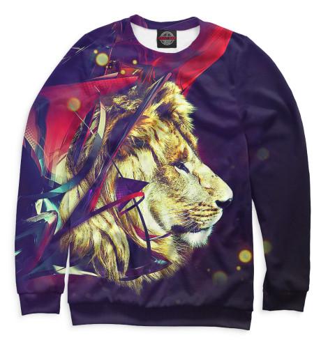 Мужской свитшот Львы