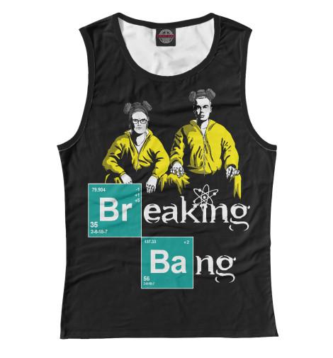 Майка Print Bar Breaking Bang томсон дэвид breaking bad официальное издание сериала во все тяжкие