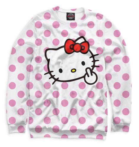 Женский свитшот Hello Kitty Print Bar MRT-698098-swi