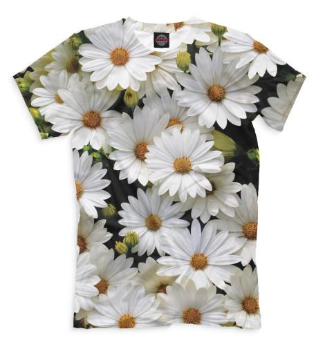 Купить Мужская футболка Цветы CVE-513328-fut-2