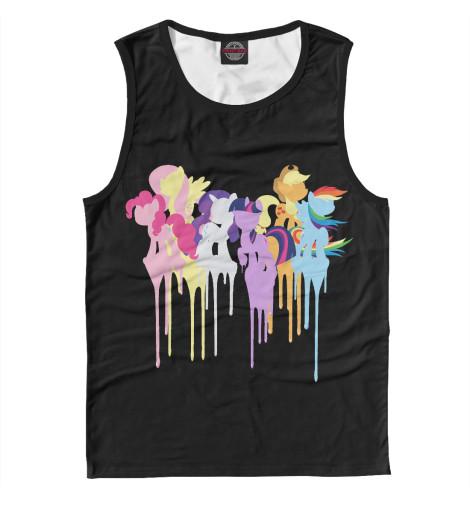 Майка Print Bar My Little Pony академия групп мешок для обуви my little pony