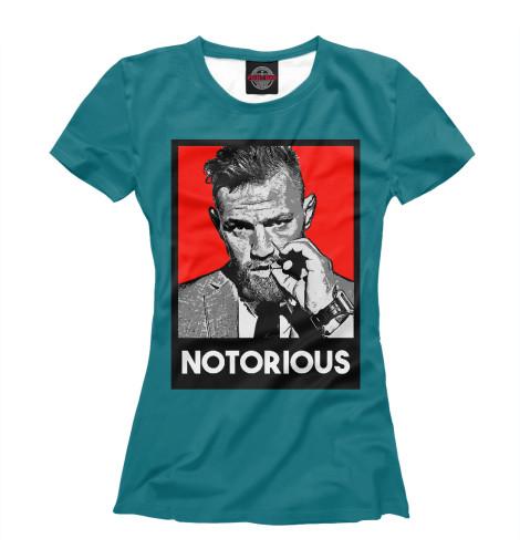 Фото - Женская футболка Notorious от Print Bar белого цвета