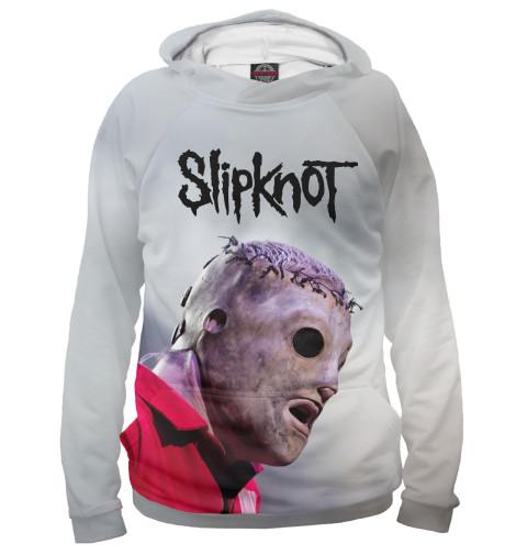 Фото - Женское худи Slipknot от Print Bar белого цвета