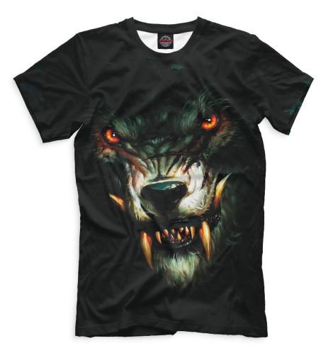 Купить Мужская футболка Волк VLF-925446-fut-2