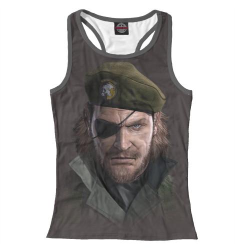 Майка борцовка Print Bar Metal Gear майка борцовка print bar black metal ist krieg